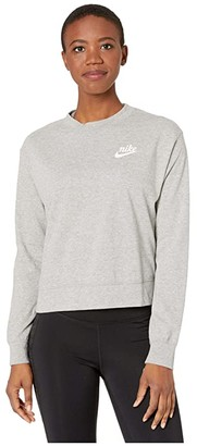 Nike NSW Gym Vintage Crew (Valerian Blue/Sail) Women's Sweatshirt