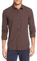 Billy Reid Men's Kirby Slim Fit Dobby Check Sport Shirt