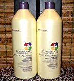 Pureology Perfect 4 Platinum Shampoo 33.8 oz & Conditioner Duo Set by Beauty]