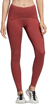 adidas by Stella McCartney Believe This Laser-Cut Leggings