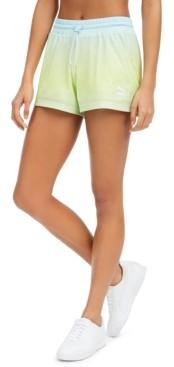 Puma Women's Tie-Dyed Mesh Shorts