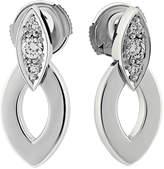Cartier Estate 18k Marquise Diamond Drop Earrings