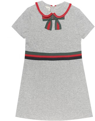Gucci Kids Cotton-jersey dress