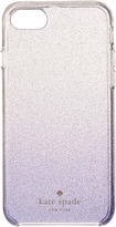 Kate Spade Clear Glitter Ombre Phone Case for iPhone 7 Cell Phone Case