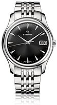 Eterna Men's Automatic Watch with Black Dial Analogue Display and Silver Stainless Steel Bracelet 7630.41.50.1227