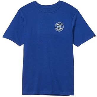 Vans Kids OG Checker Tee (Big Kids) (Sodalite Blue) Boy's Clothing