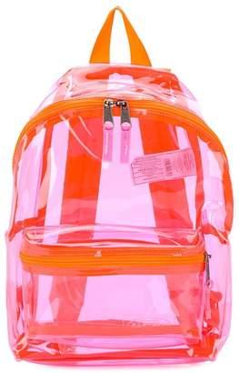 Eastpak transparent backpack
