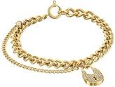 Michael Kors Curb Padlock Bracelet