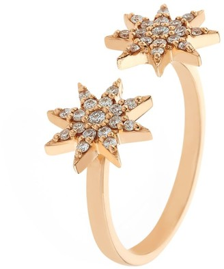 Bee Goddess Ishtar Star Diamond Ring