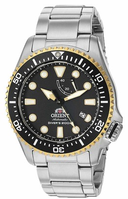 Orient Men's Neptune Japanese Automatic Diving Watch with Stainless Steel Strap Silver 22 (Model: RA-EL0003B)