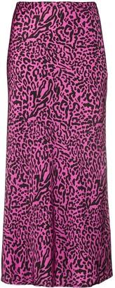 Andamane Leopard Print Skirt