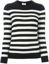 Saint Laurent striped boyfriend sweater