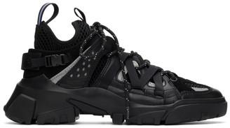 McQ Black Descender Sneakers