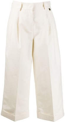 Twin-Set Tailored Wide Leg Trousers