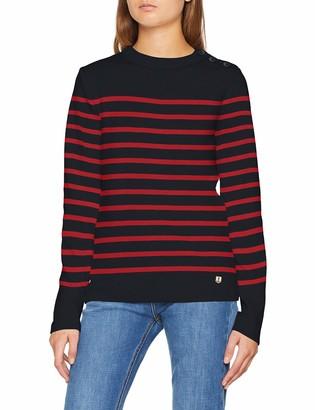 Armor Lux Women's Pull Marin Groix HAritage Femme Jumper