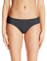 Anne Cole Women's Lace Crochet Side Tab Bikini Bottom