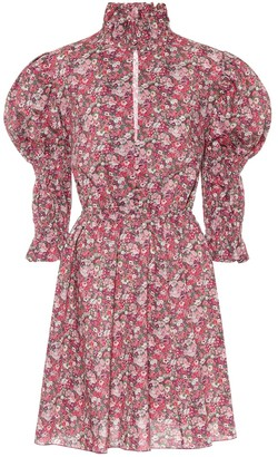 Philosophy di Lorenzo Serafini Floral cotton dress
