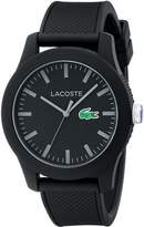 Lacoste Men's 2010766-12.12 Watch with Textured Band