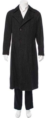 Chanel Pinstripe Wool Coat w/ Tags