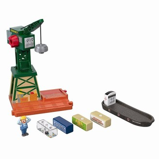 Thomas & Friends Wooden Railway Fisher-Price Thomas & Friends Wood Cranky at the Docks