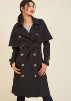 ModCloth Astonish With Polish Trench in 10 (UK)