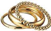 Dolce & Gabbana Triplet Stackable Bangles, Gold