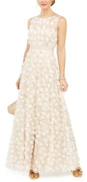 Brinker & Eliza Embellished Floral Gown