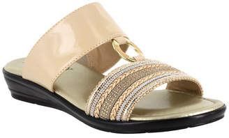 Easy Street Shoes Tuscany by Sonnet Slide Sandals Women Shoes
