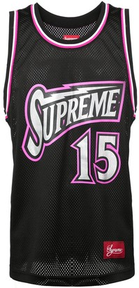 Supreme Bolt basketball jersey