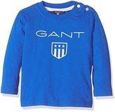 Gant Baby Boys 0-24m Shield Ls T-Shirt Polo Shirt,(Manufacturer Size:6M)