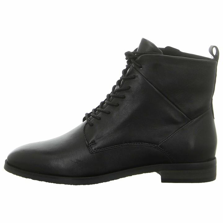 Ladies Black Lace Up Boots   Shop the