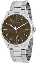 Gucci G-Timeless Collection YA126317 Men's Stainless Steel Analog Watch