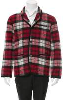 White Mountaineering Tartan Wool Jacket
