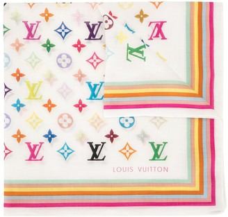 Louis Vuitton I Love monogram scarf