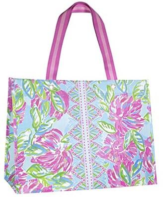 Lilly Pulitzer XL Market Shopper (Totally Blossom) Handbags