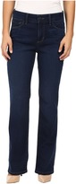 NYDJ Petite Petite Marilyn Straight Jeans in Future Fit Denim in Provence Wash