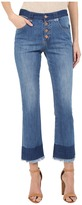 See by Chloe Stoned Denim Frayed Edge Jeans