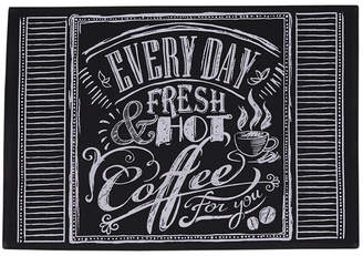 Design Imports Set Of 6 Coffee Chalkboard Placemats
