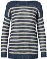 Polo Ralph Lauren Striped Linen Boatneck Sweater