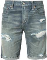 Levi's ripped denim shorts - men - Cotton - 29