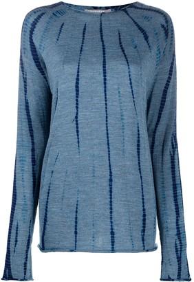 Suzusan Tie-Dye Wool Top