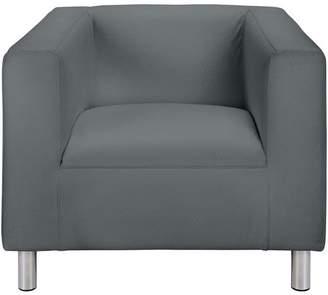Argos Home Moda Fabric Chair - Grey