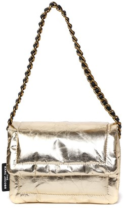 Marc Jacobs Gold Laminate Leather Bag