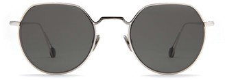 AHLEM Place Dauphine White Gold Sunglasses