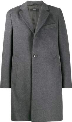 BOSS single breasted wool coat