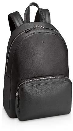 Montblanc Meisterstück Soft-Grain Leather Backpack in Black