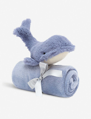 Jellycat Wilbur Whale soft toy and soother gift set