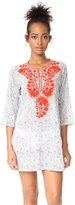 Roberta Roller Rabbit Sitara Lata Embroidered Caftan