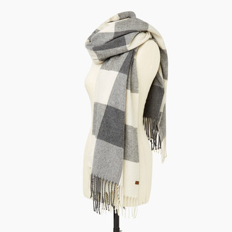 Roots Park Plaid Blanket Scarf
