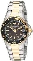 Technomarine Women's 'Sea Manta' Swiss Quartz Stainless Steel Watch, Color:Two Tone (Model: TM-215061)